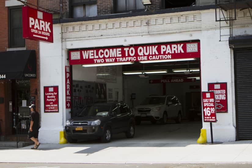 QuikPark Manhattan, 83 Locations